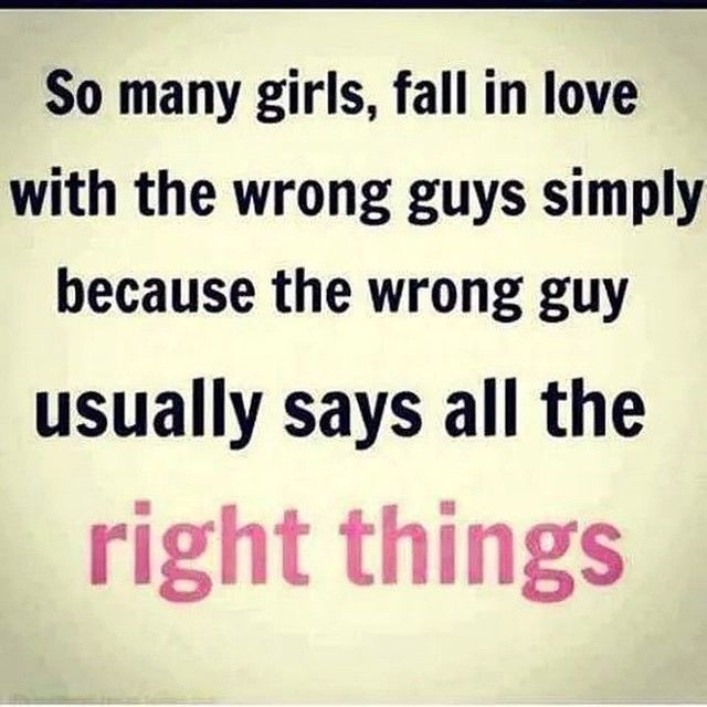 Quotes About Bad Boys And Good Girls The Wrong Guy S...