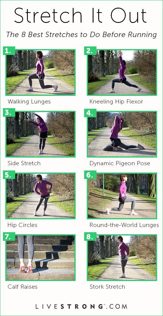The 8 Best Stretches To Do Before Running Pictures, Photos ...