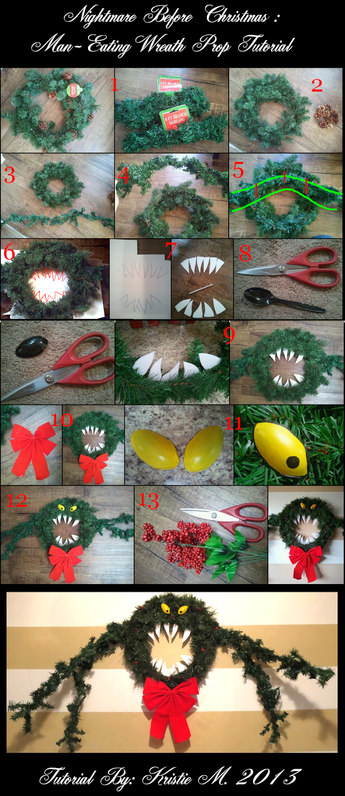 Diy Nightmare Before Christmas Wreath Pictures Photos And Images For Facebook Tumblr Pinterest And Twitter,How To Make Envelope With Paper Step By Step