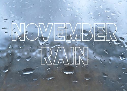 ideas for wedding pictures in the rain - November Rain s and for