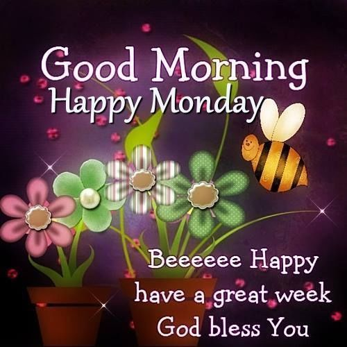 Good morning happy monday pictures photos and images for facebook