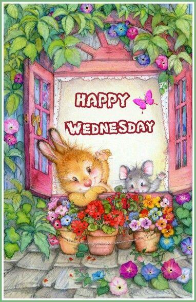 Cute Happy Wednesday Quote