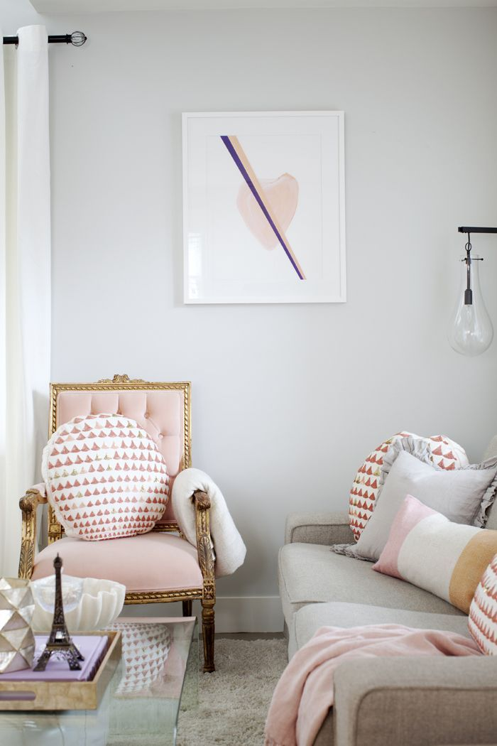 Pop Of Pink Living Room Pictures, Photos, and Images for ...