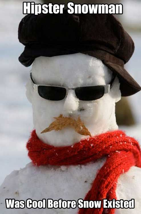 hipster snowman pictures photos and images for facebook
