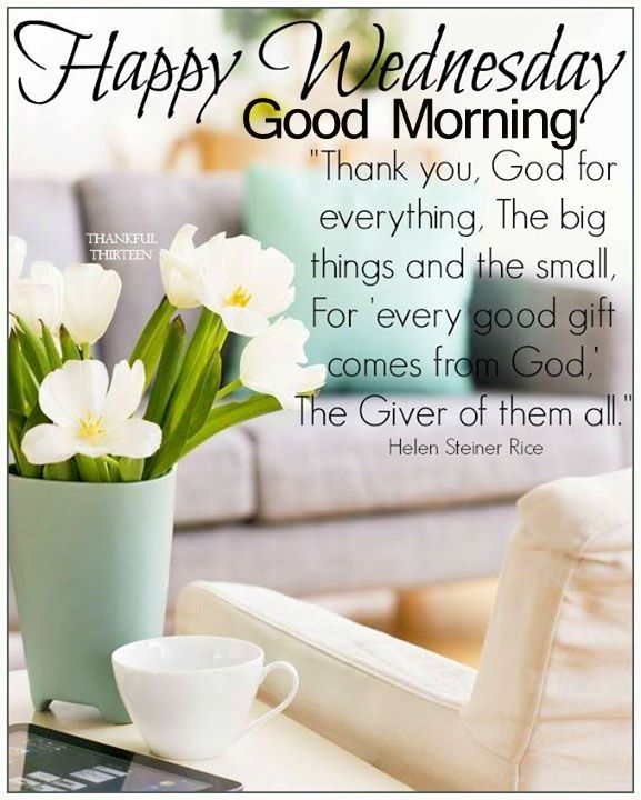 beautiful happy wednesday good morning quote pictures