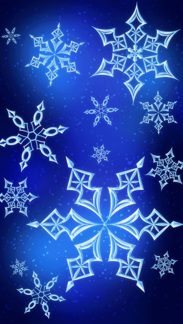 christmas iphone background blue snowflake wallpaper pictures photos and images for 2941