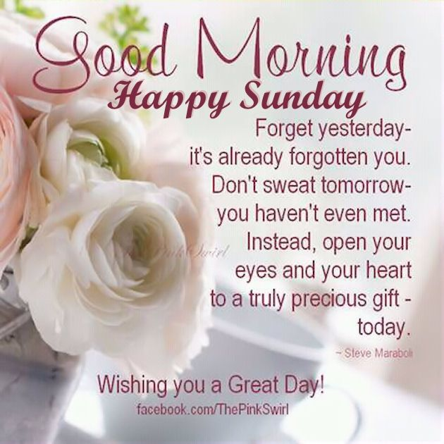 Beautiful Good Morning Happy Sunday Image Pictures Photos