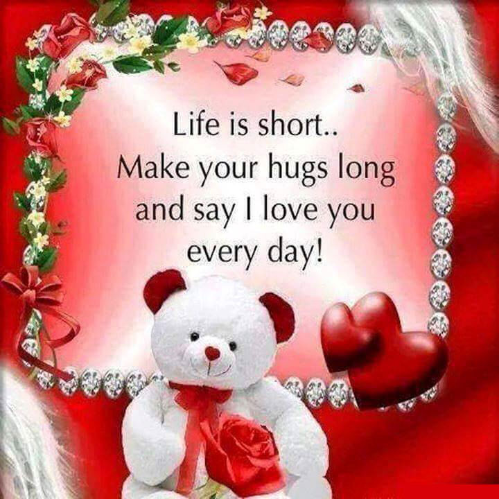 Life Is Short Say I Love You Pictures, Photos, And Images