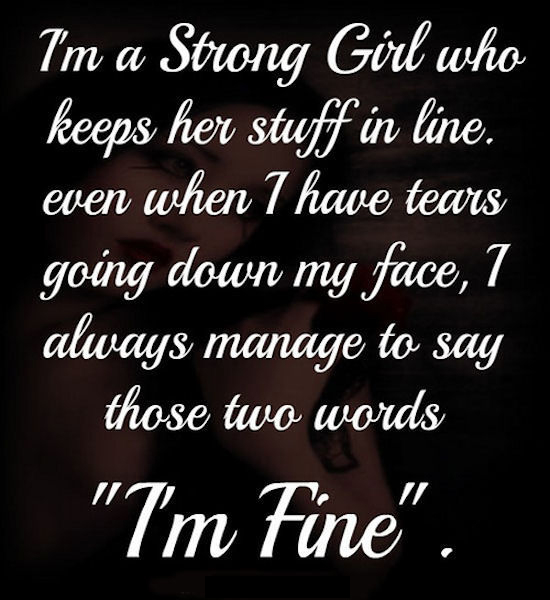 Proverbs About Strong Woman Long Image: I Am A Strong Girl Quote Pictures, Photos, And Images For