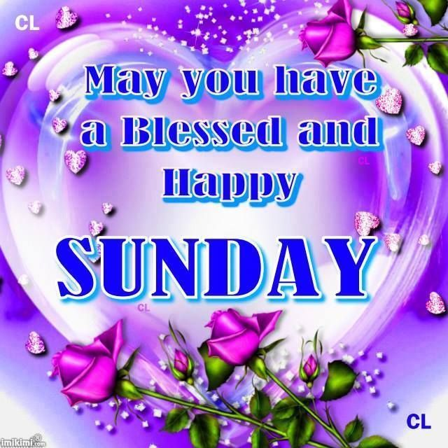May You Have A Blessed And Happy Sunday Pictures Photos