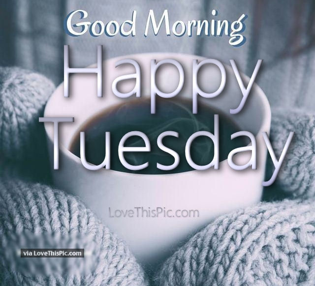 Winter Good Morning Happy Tuesday Quote Pictures, Photos
