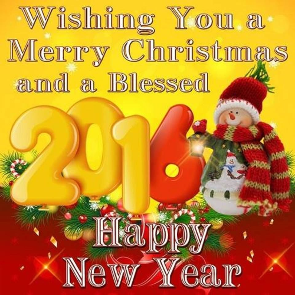 Wishing A Merry Christmas And A Blessed 2016 Pictures ...
