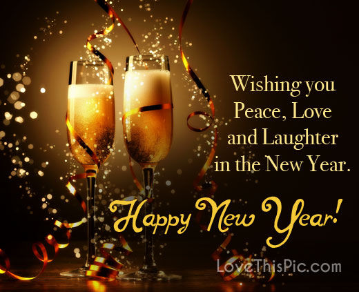 Wishing You Peace Happy New Year Pictures, Photos, and ...