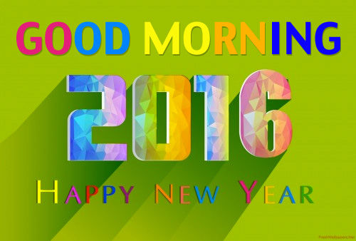 Superior Good Morning, 2016 Happy New Year Pictures, Photos, And Images For Facebook, Awesome Ideas