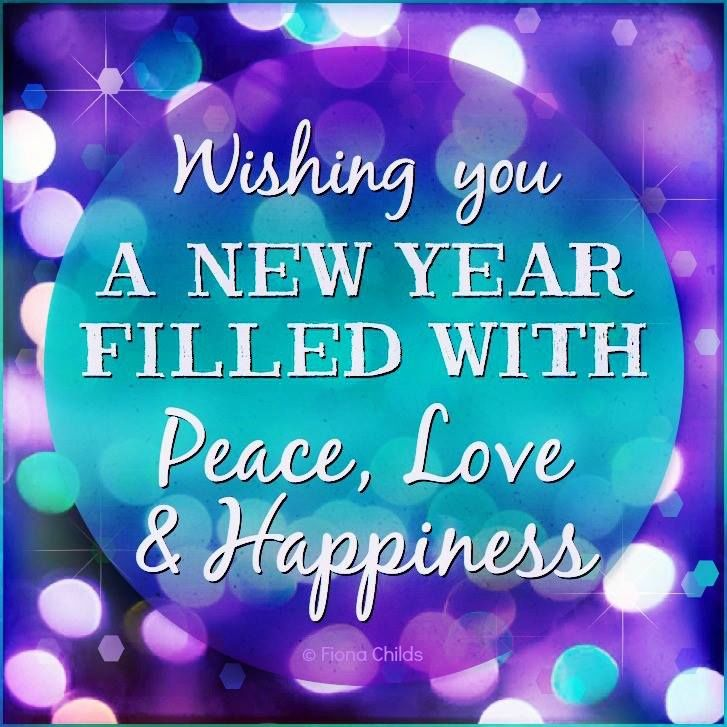 New Relationship Quotes Happy: Wishing You A Year Filled With Peace And Love Pictures