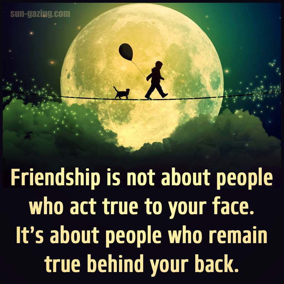 Funny Inspirational Quotes About Friendship: Friendship Is About Who Is Real Behind Your Back Pictures