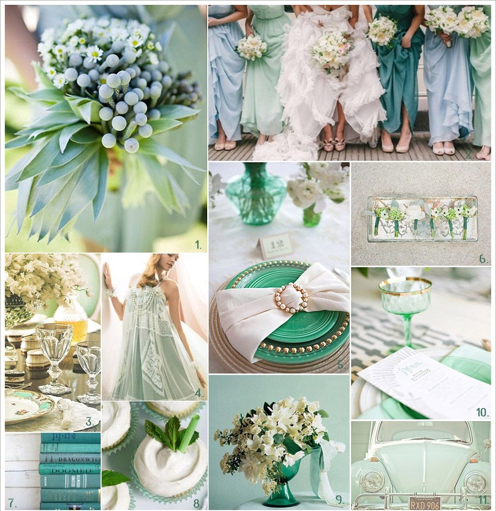 mint green wedding decorations mint green wedding colors pictures photos and images for 5954