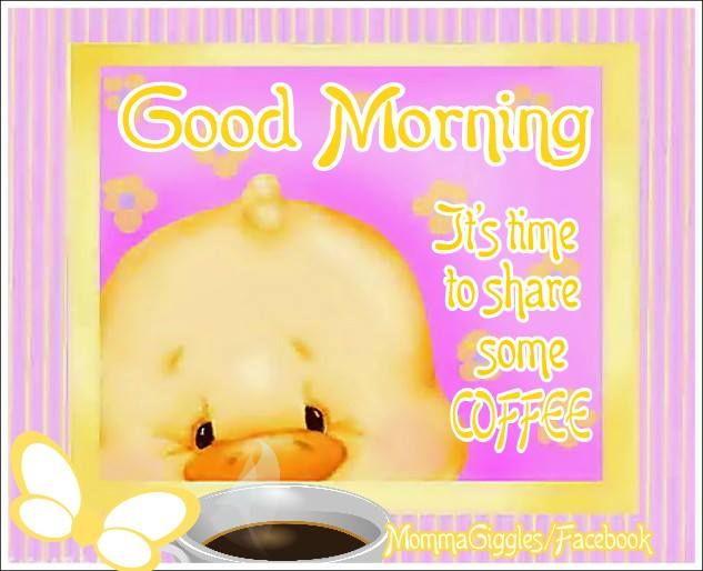Good Morning Coffee Time Gif