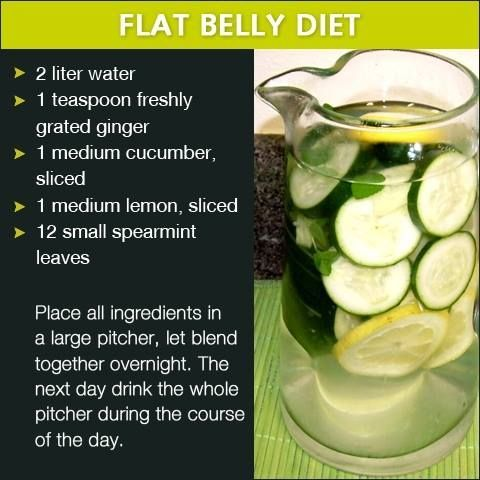 flat belly diet water pictures photos and images for