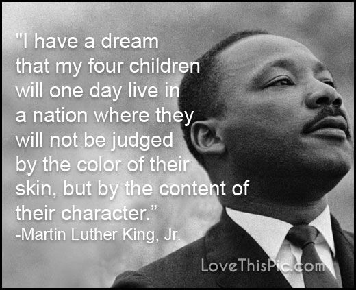 Martin Luther King Quotes Tumblr: I Have A Dream Pictures, Photos, And Images For Facebook