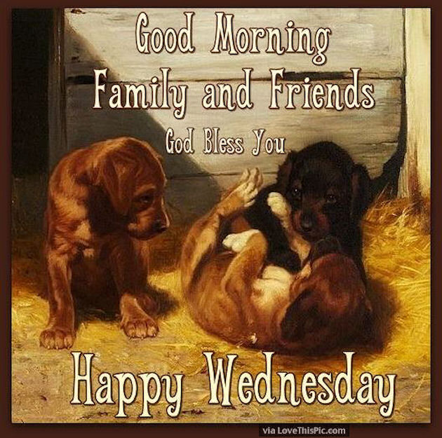 Good Morning Family And Friends Happy Wednesday Pictures ...