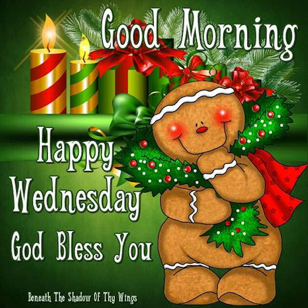 Good Morning Happy Wednesday God Bless You Quote Pictures