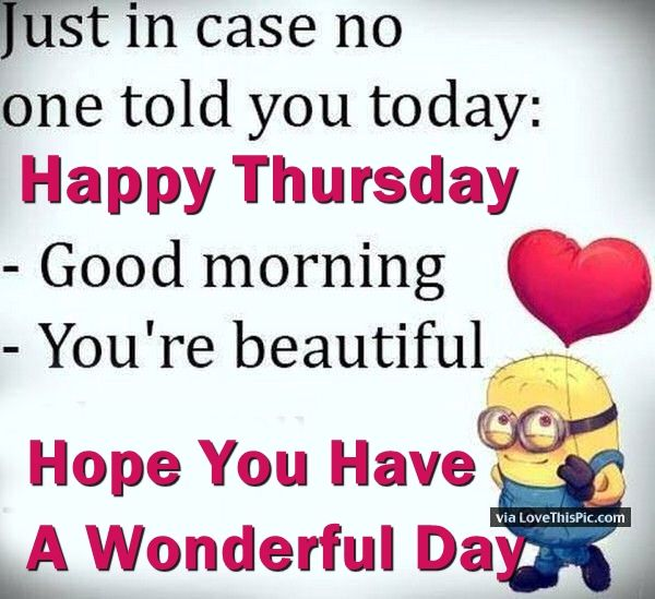 Good Morning Beautiful You Facebook : Good morning happy thursday you are beautiful pictures