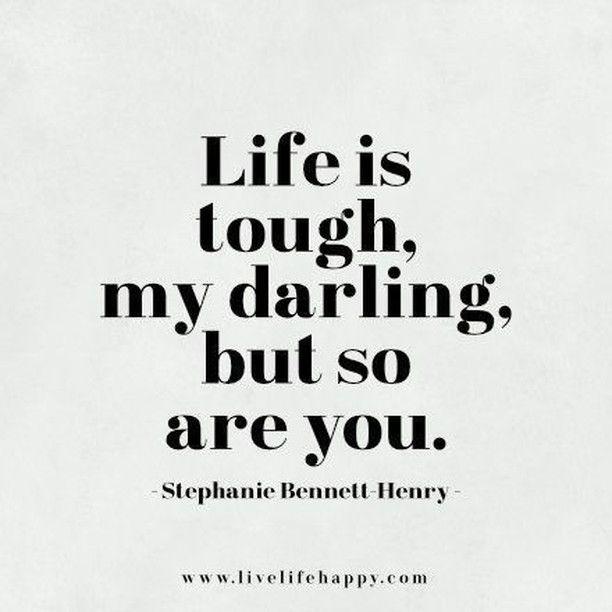 Life Is Tough My Darli...F Scott Fitzgerald Quotes I Hope You Live A Life