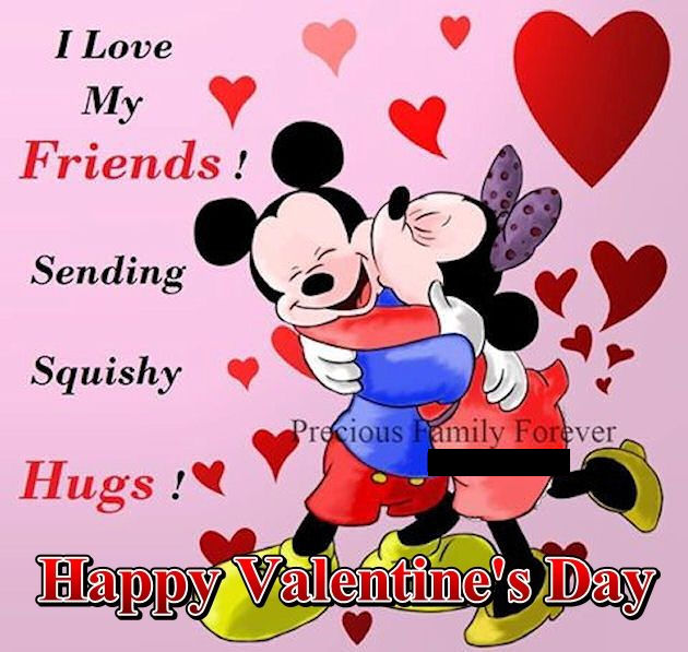 Valentine Quotes For A Good Friend : Disney Valentine S Day Quote For  Friends Pictures Photos