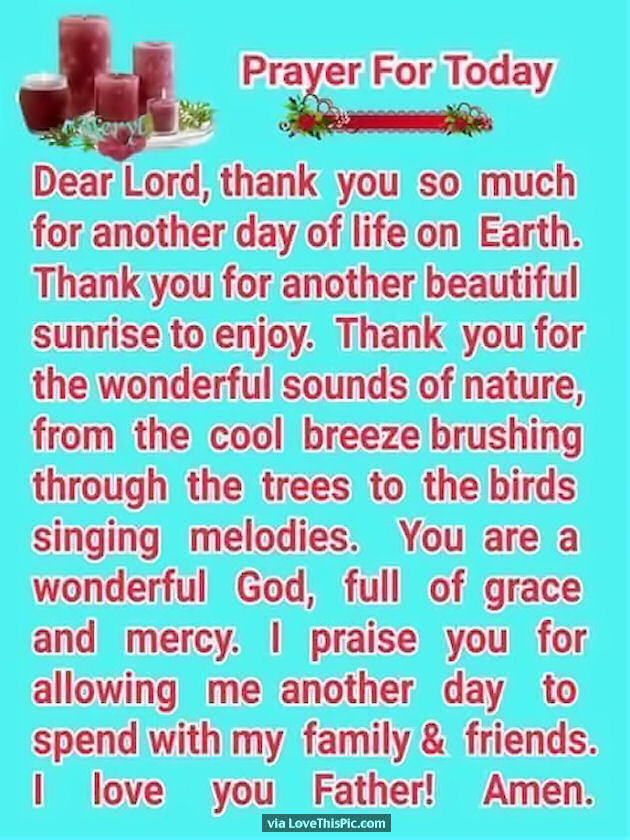 Good Morning Prayer For You : Good morning prayer for you today pictures photos and