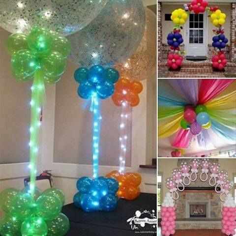 Balloon decorating ideas pictures photos and images for for Balloon decoration making