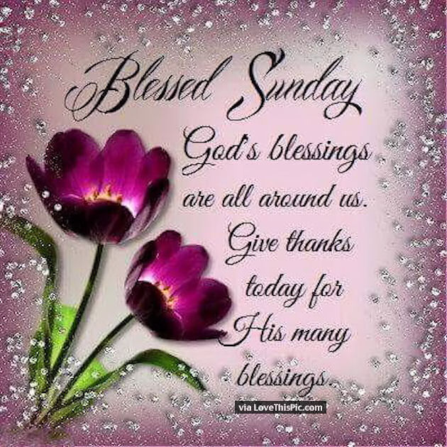 Blessed Sunday God Blessings Are All Around Us Pictures Photos And Images For Facebook Tumblr