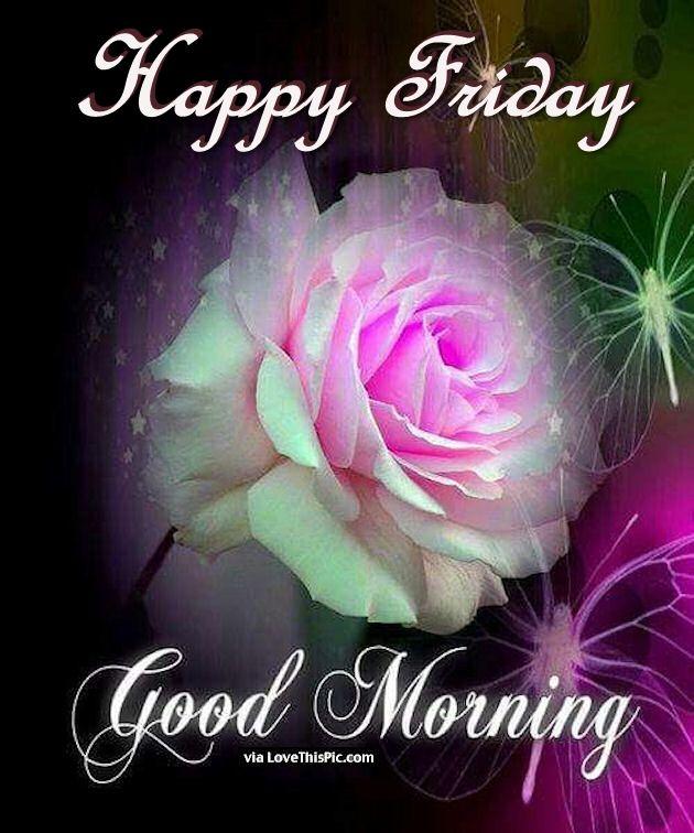 Good Morning Beautiful Flowers Photos : Happy friday good morning beautiful flower pictures