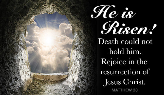 Image result for he is risen images