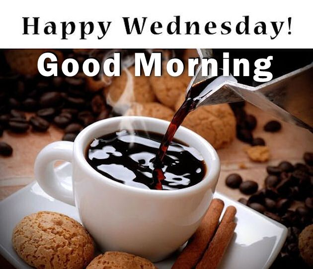 Happy Wednesday Good Morning Coffee Quote Pictures, Photos, and Images for  Facebook, Tumblr, Pinterest, and Twitter