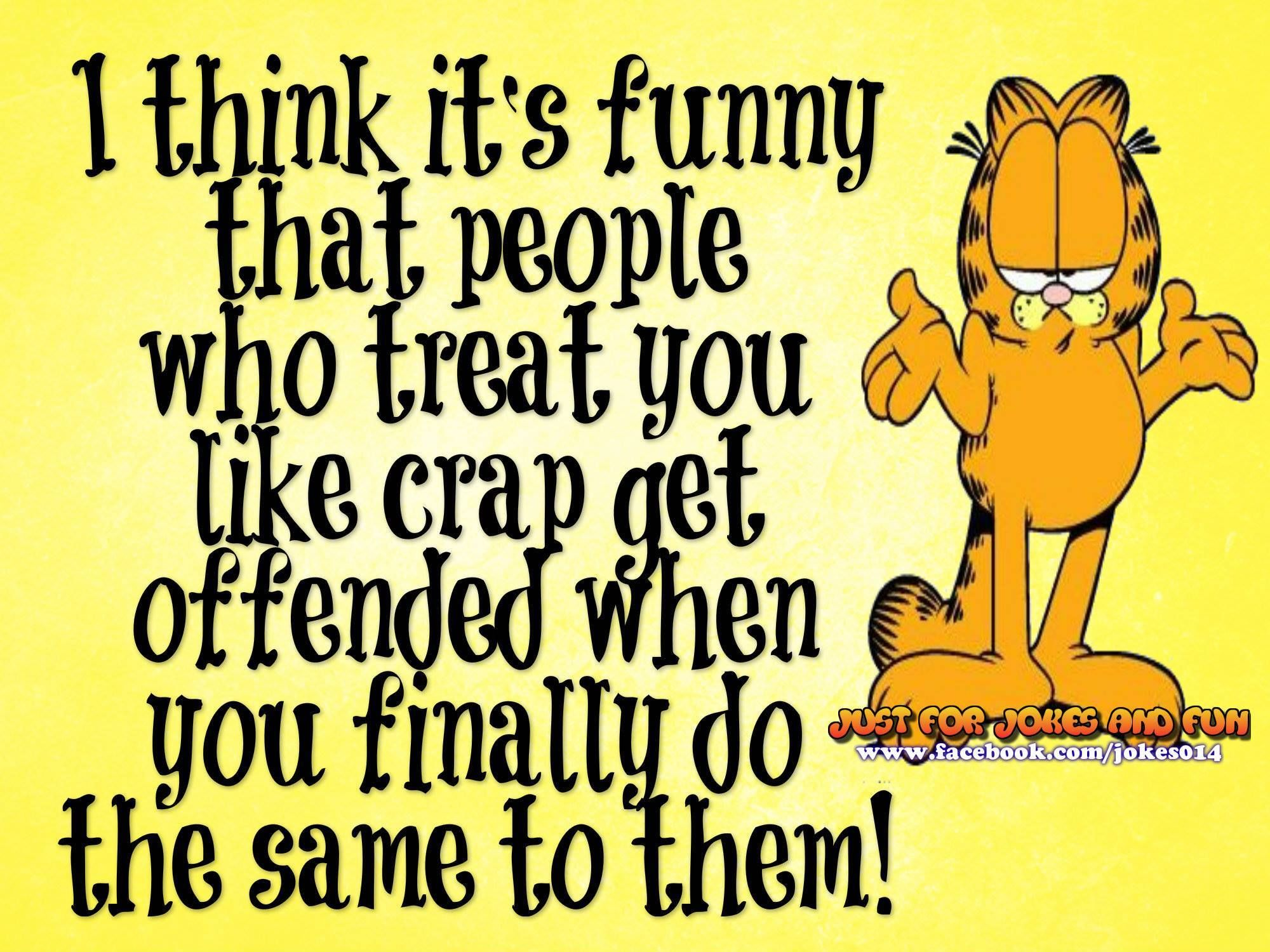 jokes funny cartoon garfield quotes think its sayings joke lol humor hilarious cartoons comic quote lovethispic sarcastic funniest strip thank