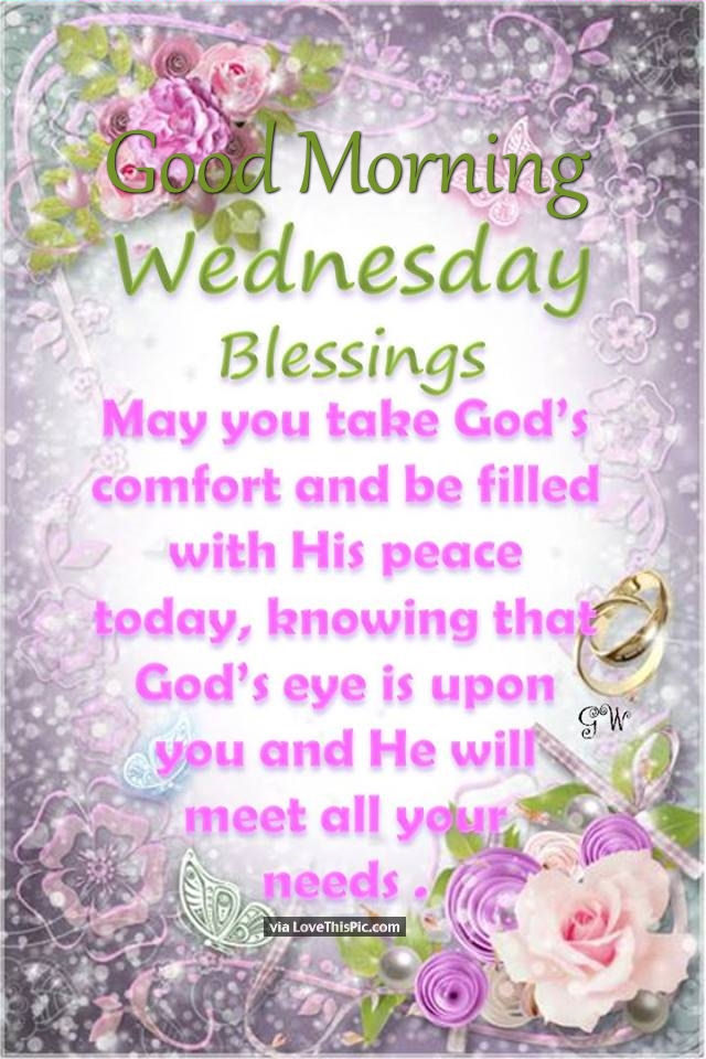 Image Result For Wednesday Morning Blessing Quotes