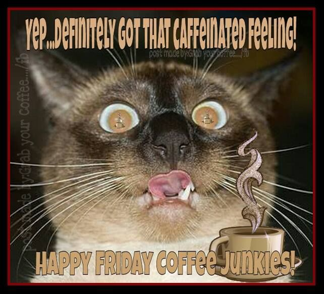 happy friday coffee junkies pictures  photos  and images for facebook  tumblr  pinterest  and