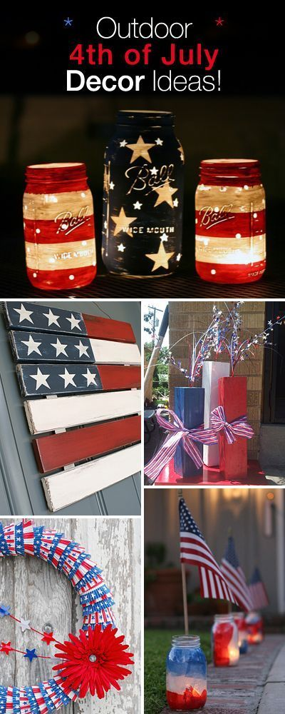 Outdoor July 4th Decor Ideas Pictures Photos And Images