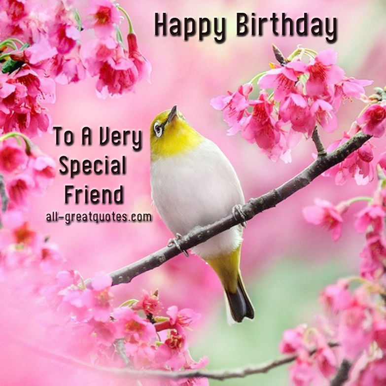 Happy Birthday To A Special Friend Pictures, Photos, And