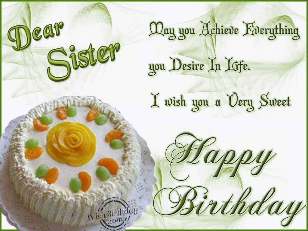 dear sister happy birthday pictures photos and images