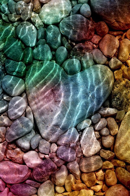 Heart Shaped River Rock Pictures Photos And Images For