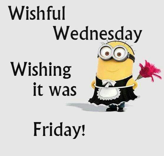Hump Day Funny Minion Quotes: Wishful Wednesday Pictures, Photos, And Images For