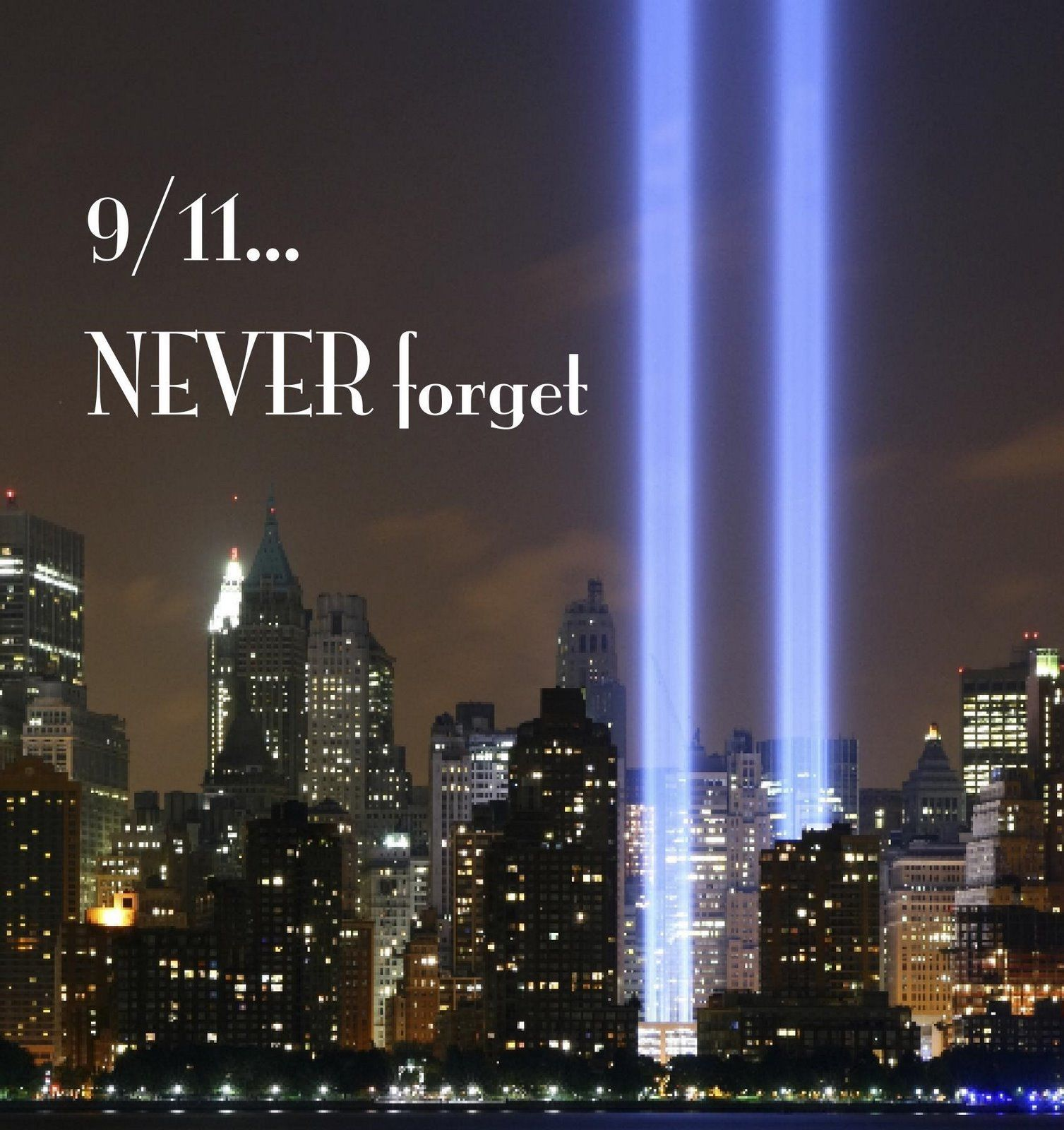 9-11...Never Forget
