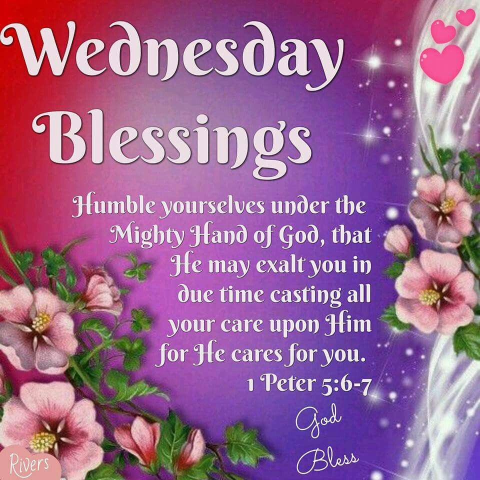 Blessings Quotes: Pin Wednesday Blessings Quotes Images To Pinterest