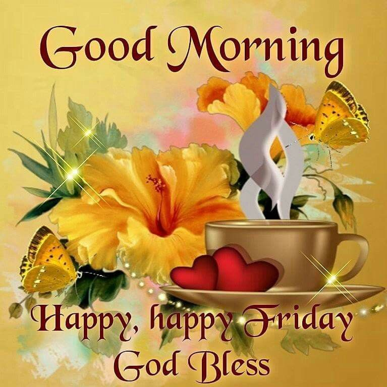 Good Morning, Happy, Happy Friday, God Bless Pictures ... Good Morning Happy Monday Quotes