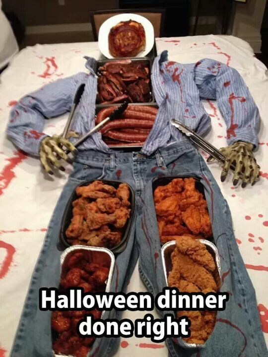 Halloween Dinner Pictures Photos And Images For Facebook