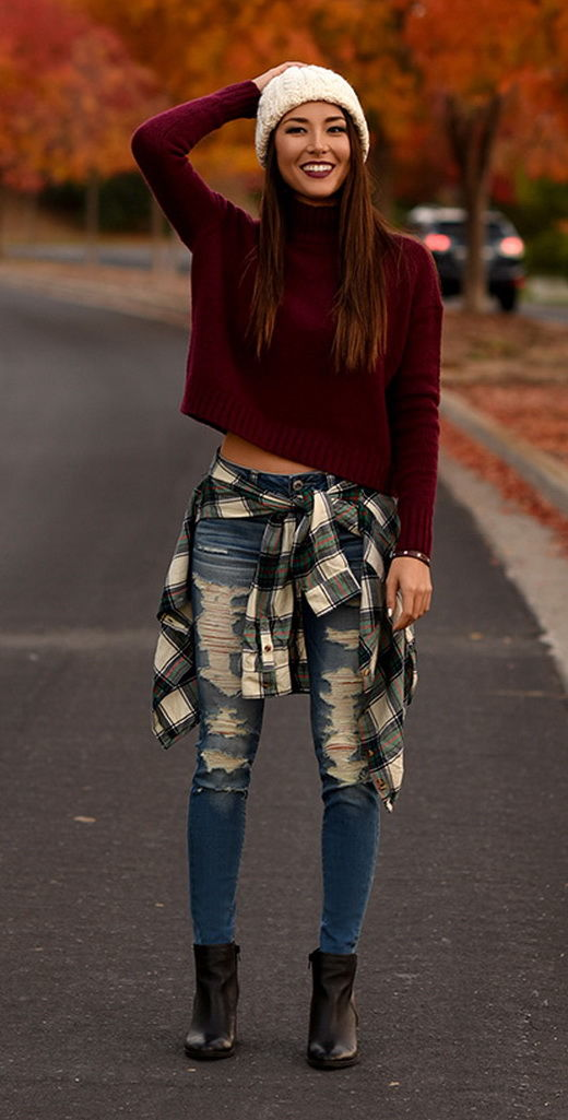 Cute Casual Fall Outfit Pictures, Photos, and Images for ...