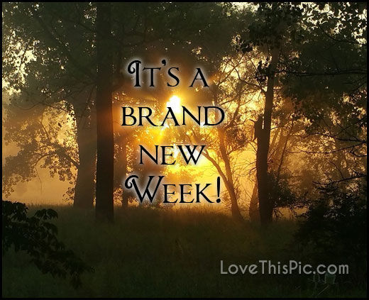 Brand New Love Quotes: Brand New Week Quote Pictures, Photos, And Images For