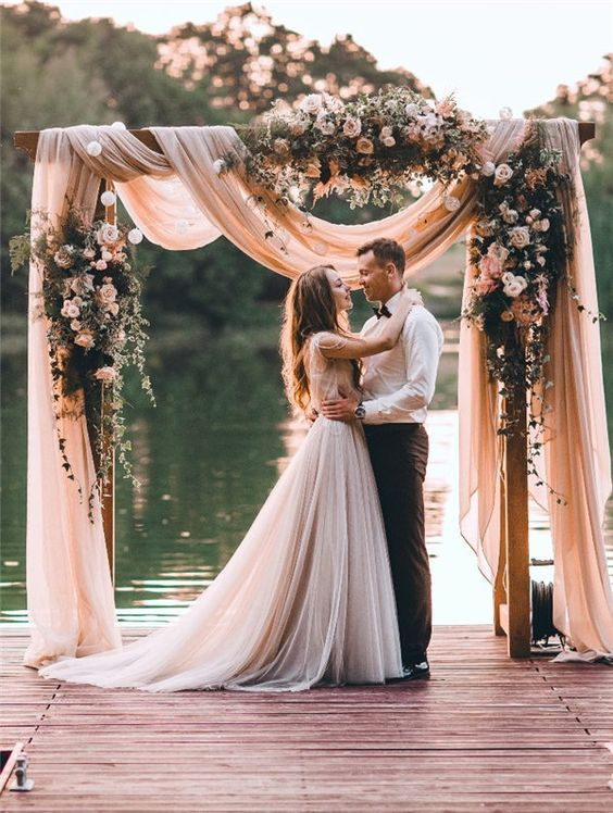 DIY Floral Wedding Arch Pictures, Photos, and Images for ...